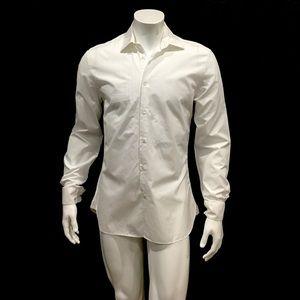 John Varvatos Men's White Dress Shirt